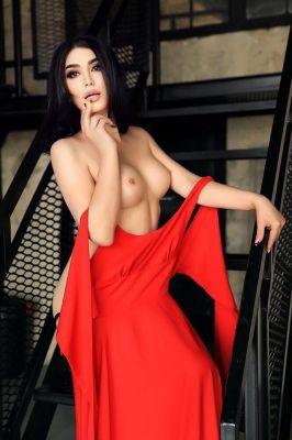 Алина Транс — массаж «Ветка сакуры»